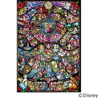 テンヨー ディズニー ジグソーパズル ステンドアート 1000ピース ディズニー&Dピクサー ヒロインコレクシ DP-1000-028(直送品)