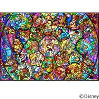テンヨー ディズニー ジグソーパズル 266ピース オールスター ステンドグラス DPG-266-563 1セット(直送品)