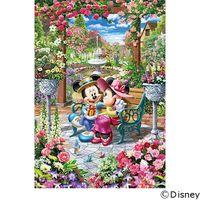 テンヨー ディズニー ジグソーパズル 500ピース 恋咲くロイヤルガーデン DPG-500-218 1セット(直送品)
