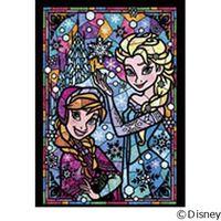 テンヨー ディズニー ジグソーパズル ステンドアート 266ピース アナ&エルサ DSG-266-753 1セット(直送品)