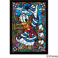 テンヨー ディズニー ジグソーパズル ステンドアート 266ピース ドナルドダック DSG-266-954 1セット(直送品)