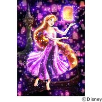 テンヨー ディズニー ジグソーパズル ステンドアート 266ピース 夜空に灯る夢 ラプンツェル DSG-266-963 1セット(直送品)