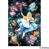 テンヨー ディズニー ジグソーパズル ステンドアート 266ピース キラキラ眩しい不思議な夢 アリス DSG-266-971 1セット(直送品)