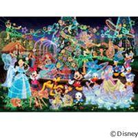 テンヨー ディズニー ジグソーパズル ステンドアート 500ピース マジカルイルミネーション DSG-500-388 1セット(直送品)