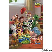 テンヨー ディズニー ジグソーパズル ステンドアート 500ピース 新しいともだちへ トイ・ストーリー DSG-500-432 1セット(直送品)