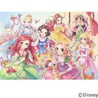 テンヨー ディズニー ジグソーパズル ステンドアート 500ピース ピュアリーディズニープリンセス DSG-500-452 1セット(直送品)
