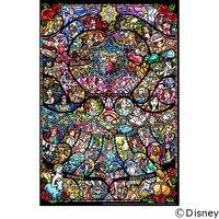 テンヨー ディズニー ジグソーパズル ステンドアート 500ピース ディズニー&ディズニー/ピクサー ヒロイン DSG-500-489(直送品)