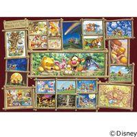 テンヨー ディズニー ジグソーパズル 1000ピース 世界最小 ジグソーパズルアート集 くまのプーさん DW-1000-394 1セット(直送品)