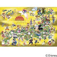 テンヨー ディズニー ジグソーパズル 1000ピース 世界最小 ファンタスティック ジャパン DW-1000-432 1セット(直送品)