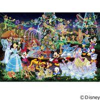 テンヨー ディズニー ジグソーパズル 1000ピース 世界最小 マジカル イルミネーション DW-1000-449 1セット(直送品)