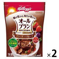 日本ケロッグ オールブラン ブランチョコフレーク 390g 2袋 【機能性表示食品】 シリアル