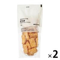 無印良品 素材を生かした米菓 ざらめ 50g 2袋 良品計画