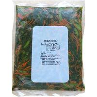 「業務用」栗木食品 春菊のお浸し 000906 5袋:1kg(直送品)