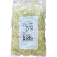 「業務用」栗木食品 ちくわとキャベツの煮浸し 485466 5袋:1kg(直送品)