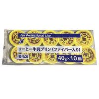 ニチレイ コーヒー牛乳プリン(ファイバー入り) 4902130320088 5袋:40g×10(直送品)