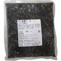 「業務用」栗木食品 ひじき煮TO 300017 5袋:500g(直送品)