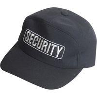 モビメントコスモ 【警備用品】アポロキャップ 黒 SECURITYワッペン付 L 4166B 1個(直送品)