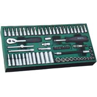 66pcs1/4六角ソケットセット RS-09901 1セット SATA Tools(直送品)