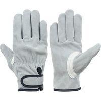 シモン 牛床革手袋 ソフトタイプ マジック付き CS-777 L 5双(直送品)