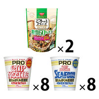 カップ麺 カップヌードルPRO(プロ)×ごろっとグラノーラ糖質60%オフ詰合せセット 1セット(16食+2袋)日清食品 日清シスコ