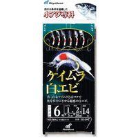 ハヤブサ HS202-3-0.6 小アジ専科 ケイムラ白エビ 1袋(直送品)