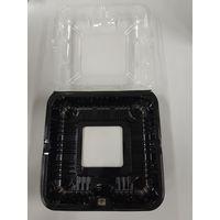 ウツミリサイクルシステムズ ウツミリサイクル 嵌合トマトパック UF-2 底黒小窓 V2056116 1個(直送品)