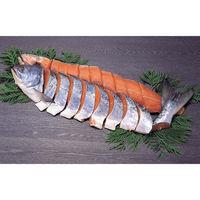 特上新巻鮭姿切身 1本・1.8〜2kg 冷凍 食品 鮭 海鮮 さけ サケ 【沖縄・離島エリア配送不可】(直送品)