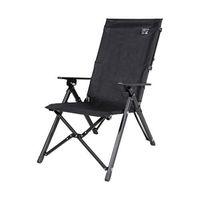 エスコ(esco) 580x790x1010mmチェアー(ポータブル/3段調整/ブラック 1脚 EA913YD-58(直送品)