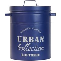 ベストコ アーバンコレクション 多目的収納ボックス ゴミ箱 ND-4489 幅350×奥行290×高さ390mm ネイビー 1個(直送品)