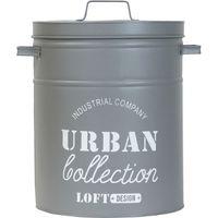 ベストコ アーバンコレクション 多目的収納ボックス ゴミ箱 ND-4499 幅350×奥行290×高さ390mm グレー 1個(直送品)