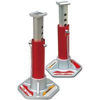Big Red 3tアルミジャッキスタンド2台セット T43004L 1セット(直送品)