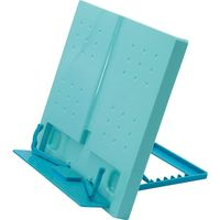 デビカ ブック&タブレットスタンド タブレット13インチ・A4サイズ対応 ライトブルー 063327 1個(直送品)