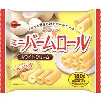 ブルボン ミニバームロールホワイトクリーム 1袋(190g)