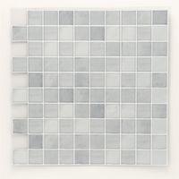 エス・ティー・イー タイルステッカー モザイクタイル スクエアホワイト 2枚入 ITL001 1セット(4枚:2枚×2セット)(直送品)