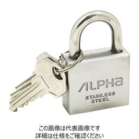 アルファ(ALPHA) オールステンレス南京錠 30mm NV2740-30 1個(直送品)