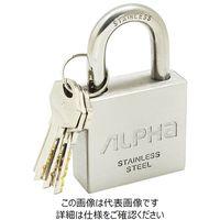 アルファ(ALPHA) オールステンレス南京錠 40mm NV2740-40 1個(直送品)