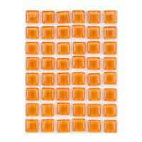 ミキ ガラスモザイクタイル アンバー MKG-1038 1セット(2個)(直送品)