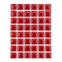 ミキ ガラスモザイクタイル バーミリオン MKG-1001 1セット(2個)(直送品)