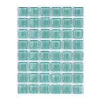ミキ ガラスモザイクタイル ブルー MKG-1063 1セット(2個)(直送品)