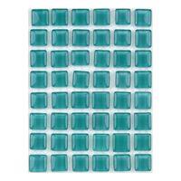ミキ ガラスモザイクタイル ピーコックグリーン MKG-1069 1セット(2個)(直送品)