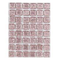 ミキ ガラスモザイクタイル ライトピンクラメ MKG-10057 1セット(2個)(直送品)
