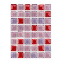 ミキ ガラスモザイクタイル MIX ペチベリー MKG-01MIX 1セット(2個)(直送品)