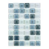 ミキ ガラスモザイクタイル MIX シルバーホワイト MKG-17MIX 1セット(2個)(直送品)