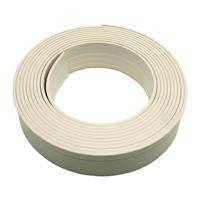 パネフリ工業 コンパクト樹脂巾木 ホワイト PLV-61370 W 1巻(直送品)