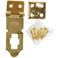 ストロング金属(STRONG) 真鍮掛金 A型 60mm 4950536110437 1セット(2個)(直送品)
