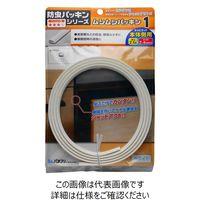 パネフリ工業 隙間防止テープ ムシむしパッキンI 白 2.1m BE1080A-2419PW HC 1セット(2本)(直送品)