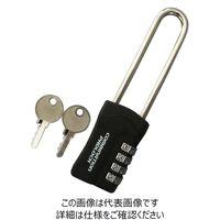 暗証番号リセット機能付 コンビネーションパドロックRK 35mmX136mmX14.3mmX72mm N-1282(直送品)