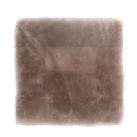ムートンクッション 淡色 40×40 小豆 日本製 シートクッション 座布団(直送品)