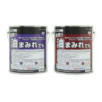 染めQテクノロジィ 床塗料シリーズ 密着油まみれでも(10KG)ライト グレー 1セット(直送品)