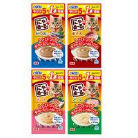 【ロハコサンプル】愛猫用 おやつ にゃめーる 24本(4種×4袋)バラエティ 数量限定 キャットフード ウェット